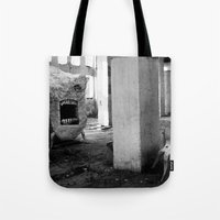 nightmare Tote Bags featuring nightmare by MatoSwamp