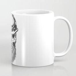 Skull Miner Helmet Coffee Mug