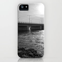 Water Under the Bridge - The Peace Collection iPhone Case