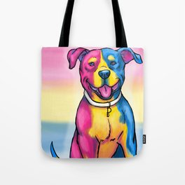 Gay Pride Pups Tote Bag