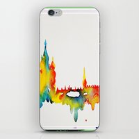 moscow iPhone & iPod Skins featuring Moscow by Talula Christian