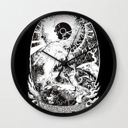 The Fool Wall Clock