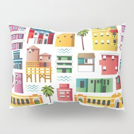 La Perla, San Juan (Puerto Rico) pattern Pillow Sham