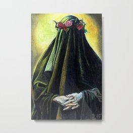 Pulchra est Virginitas Intacta Metal Print