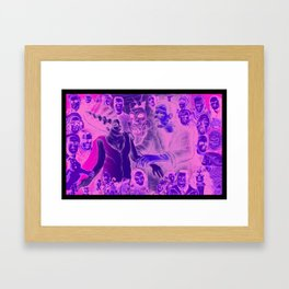 The Bride Framed Art Print