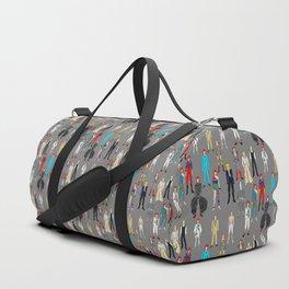Retro Vintage Fashion 1 Duffle Bag