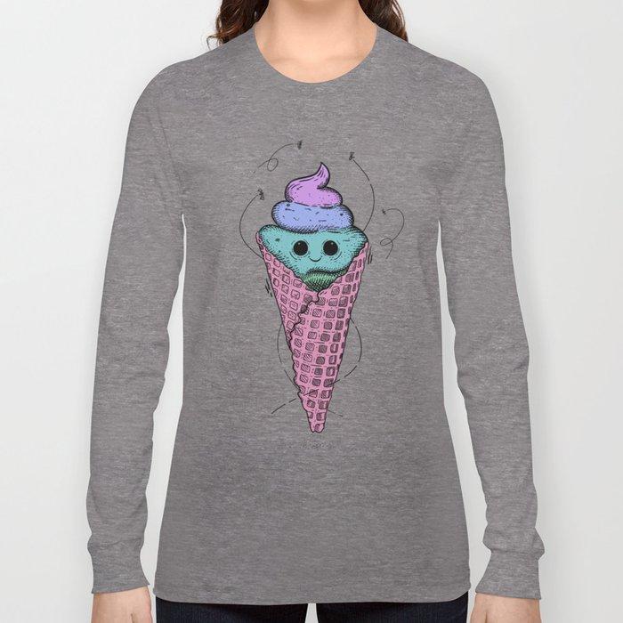 Sweet mondays be like Long Sleeve T-shirt