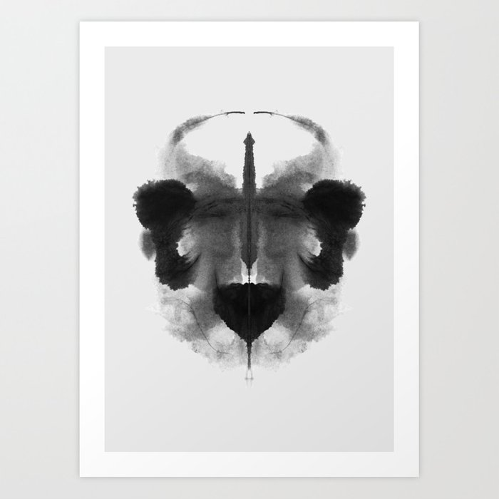 Form Ink Blot No. 5 Kunstdrucke