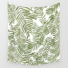 Areca Palm Pattern Wall Tapestry