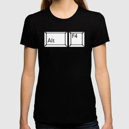 Alt F4 Buttons T-shirt