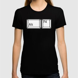 Alt F4 Buttons T-shirt