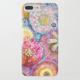 Flowered Table iPhone Case