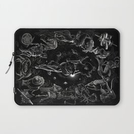 XXI. The World Tarot Card Illustration Laptop Sleeve