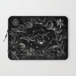 XXI. The World Tarot Card Illustration Laptop Sleeve