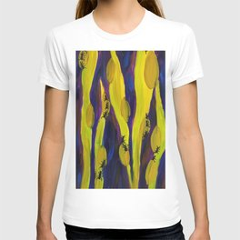 Through the Grass is Ants T-shirt
