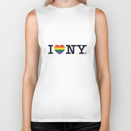 I Love New York Biker Tank