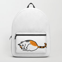 Comfy Calico Cat Backpack