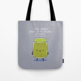 Introverted Jar Tote Bag