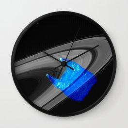 Echoes of intergalactic consumerism Wall Clock