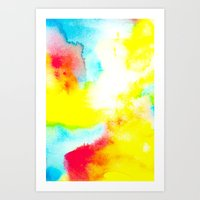 rio Art Prints featuring Rio by elena + stephann
