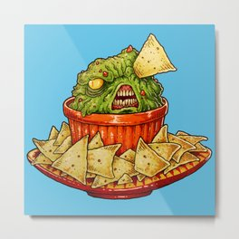 GUACAMOLE PARTY Metal Print