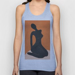 Abstract Nude II Unisex Tank Top