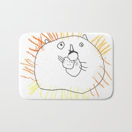 Lion the Lion Bath Mat