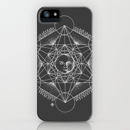 Gnostic Shadow iPhone Case