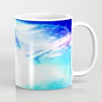 prism Mugs featuring prism by Alyxka Pro