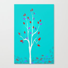 Falling - Autumn Canvas Print