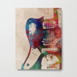guitar art 1 Metal Print