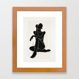 Nude woman 3 Framed Art Print