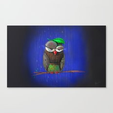 Rainy days Canvas Print