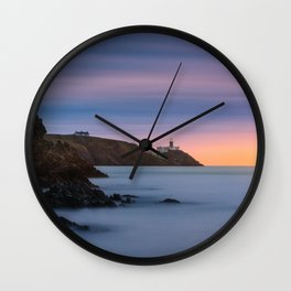 Howth lighthouse - Ireland (RR200) Wall Clock