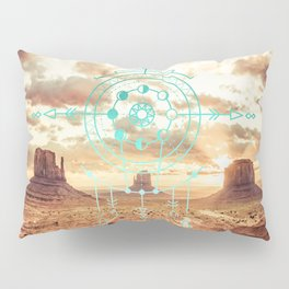 Mandala Desert Dawn Pillow Sham