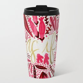 As If – Pink & Gold Travel Mug