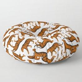 Tigers (White and Orange) Floor Pillow