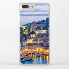DUBROVNIK 07 Clear iPhone Case