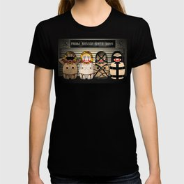 X Matryoshka Line Up T-shirt