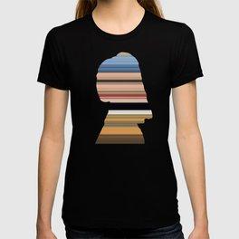 Girl with a Pearl Earring - Swipe T-shirt