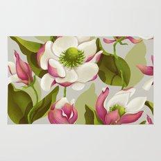 magnolia bloom - daytime version Rug