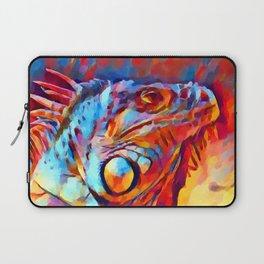 Iguana Watercolor Laptop Sleeve