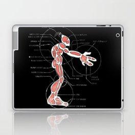 Mudokon meat chart Laptop & iPad Skin