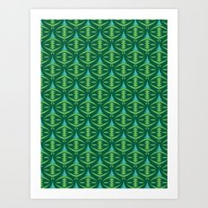 Forest Guardians Pattern Art Print