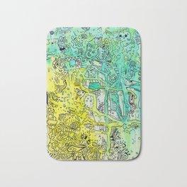 Water color 1 Bath Mat