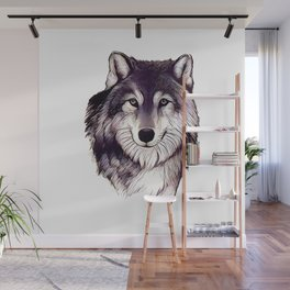 Wolfe Smile Wall Mural