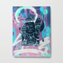 Graffish Metal Print