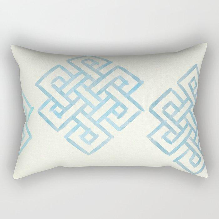 Endless and Eternal (cream) Rectangular Pillow