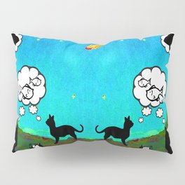 Cats Dreaming inTwilight Pillow Sham