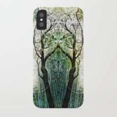 Bamboo Forest Geometry iPhone X Slim Case